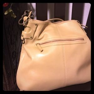 Donald J Pliner Natural Leather handbag